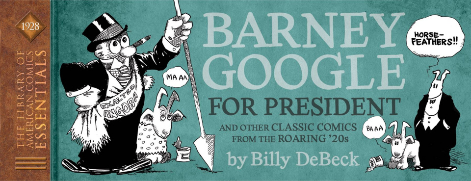 The Library of American Comics Essentials Vol. 14: Barney Google - 1928