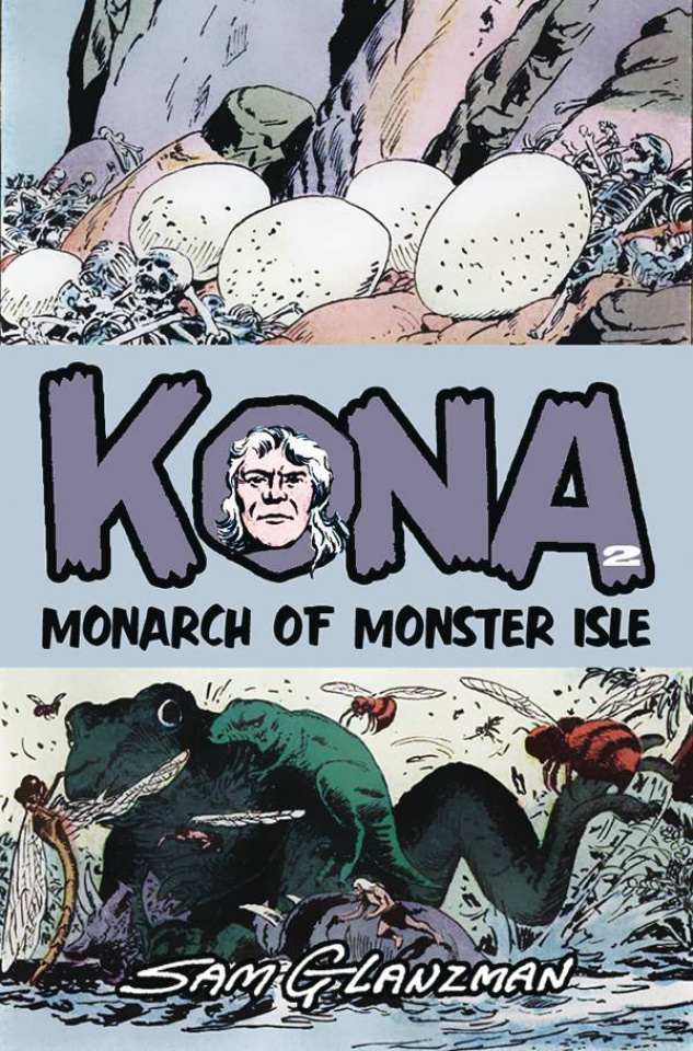 Kona #2 (Sam Glanzman Cover)