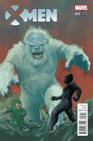 Extraordinary X-Men #2 (Noto Kirby Monster Cover)