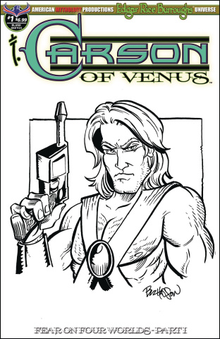 Carson of Venus: Fear on Four Worlds #1 (Hand Drawn Sketch Cover)