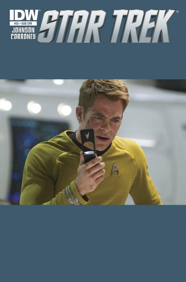 Star Trek #33 (Subscription Cover)