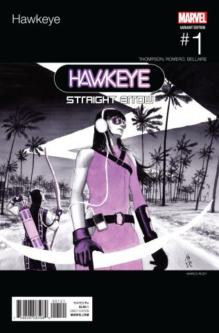 Hawkeye #1 (Rudy Hip Hop Cover)