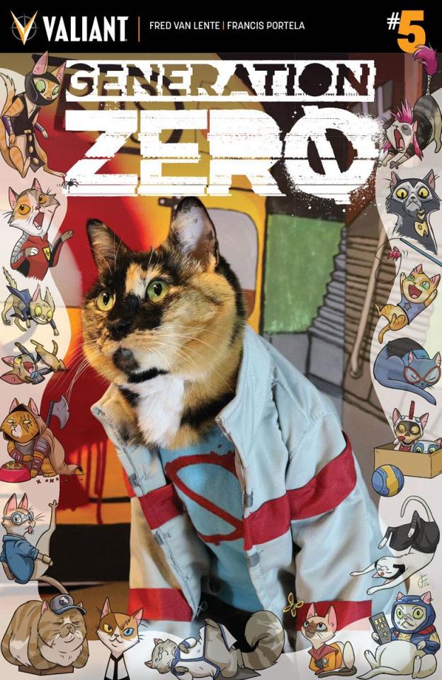 Generation Zero #5 (Cat Cosplay Cover)