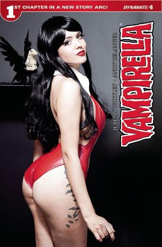 Vampirella #8 (Cosplay Cover)