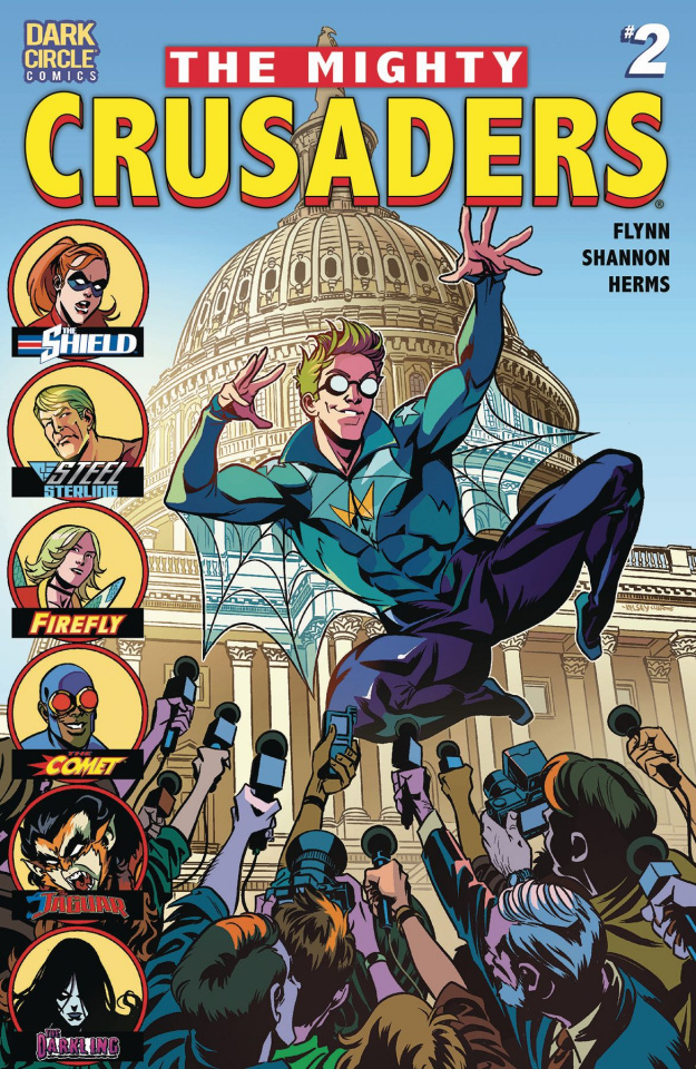 The Mighty Crusaders #2 (Shannon Cover)