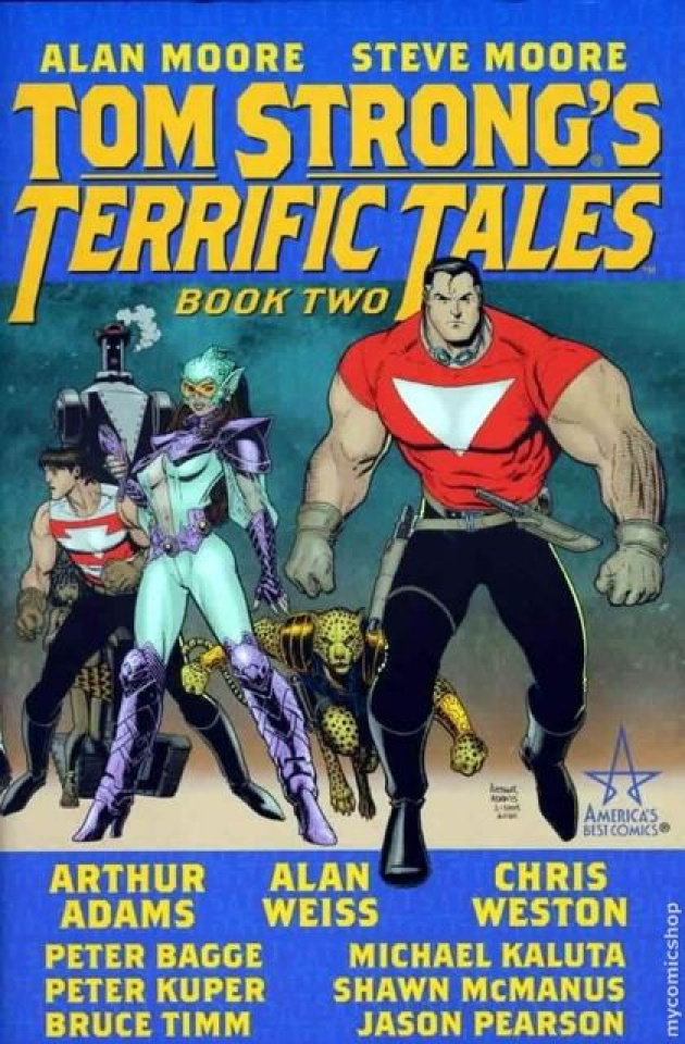 Tom Strong's Terrific Tales Book 2