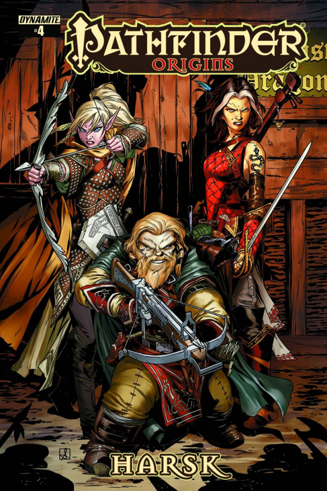Pathfinder: Origins #5 (Subscription Cover)