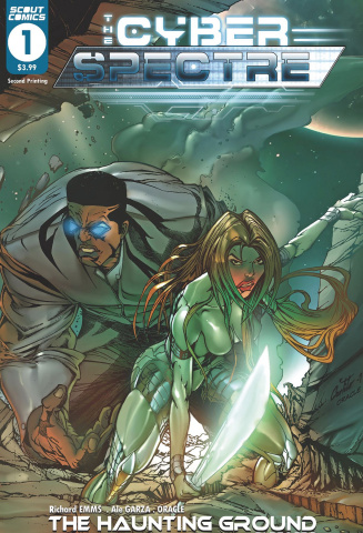 The Cyber Spectre #1 (2nd Printing)