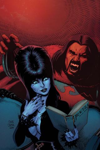 Elvira: Mistress of the Dark #4 (10 Copy Cermak Virgin Cover)