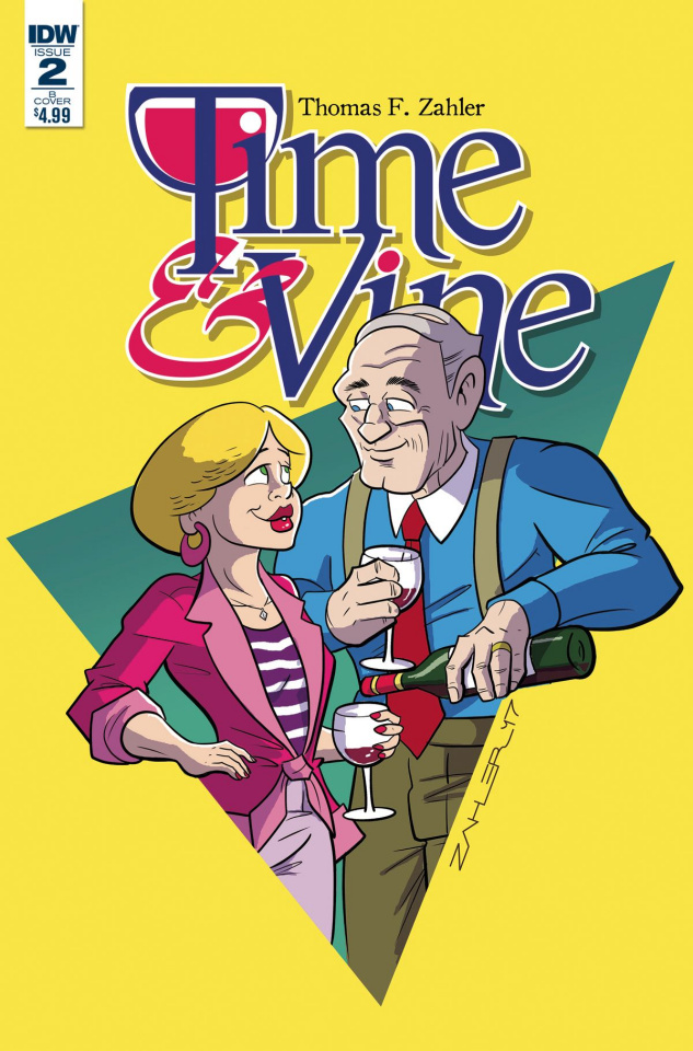 Time & Vine #2 (Zahler Cover)