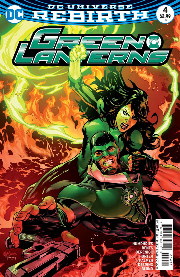 Green Lanterns #4 (Variant Cover)