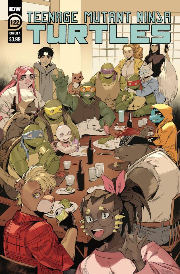 Teenage Mutant Ninja Turtles #122 (Nishijima Cover)