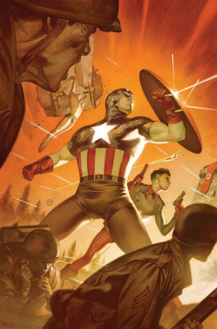 Captain America #12 (Tedesco Marvels 25th Anniversary Tribute)