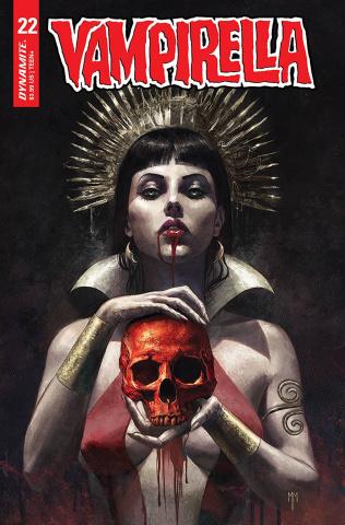 Vampirella #22 (Mastrazzo Cover)