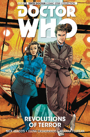 Doctor Who: Tenth Doctor Comic Strip Collection Vol. 1: Revolutions of Terror