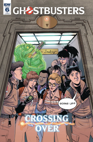 Ghostbusters: Crossing Over #6 (10 Copy Shearer Cover)