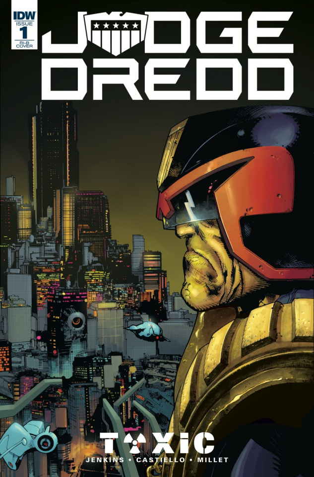 Judge Dredd: Toxic #1 (20 Copy Castiello Cover)