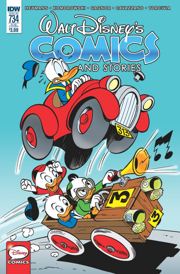 Walt Disney's Comics and Stories #734 (Subscription Cover)