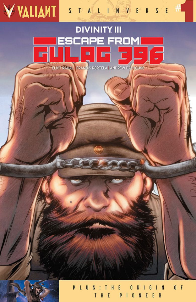 Divinity III: Escape From Gulag 396 #1 (Evans Cover)