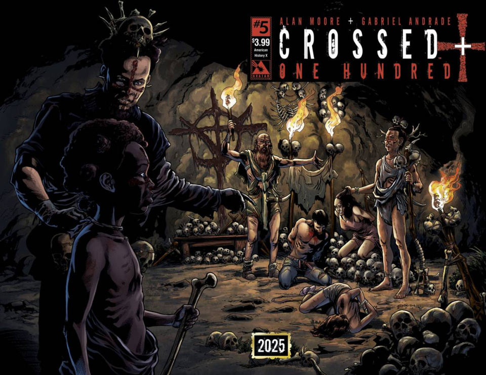 Crossed + One Hundred #5 (American History X Wrap Cover)