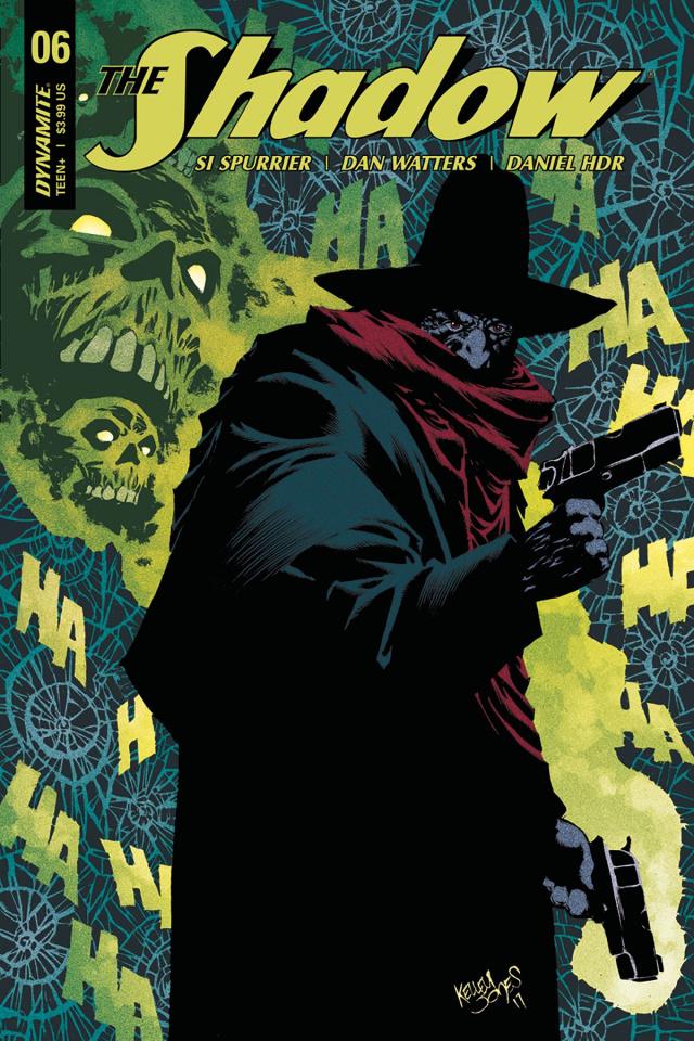 The Shadow #6 (Jones Cover)