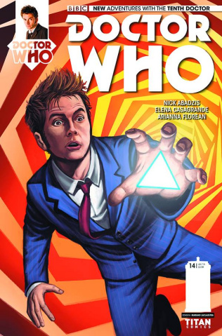Doctor Who: New Adventures with the Tenth Doctor #14 (Laclaustra Cover)
