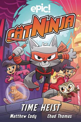 Cat Ninja Vol. 2: Time Heist