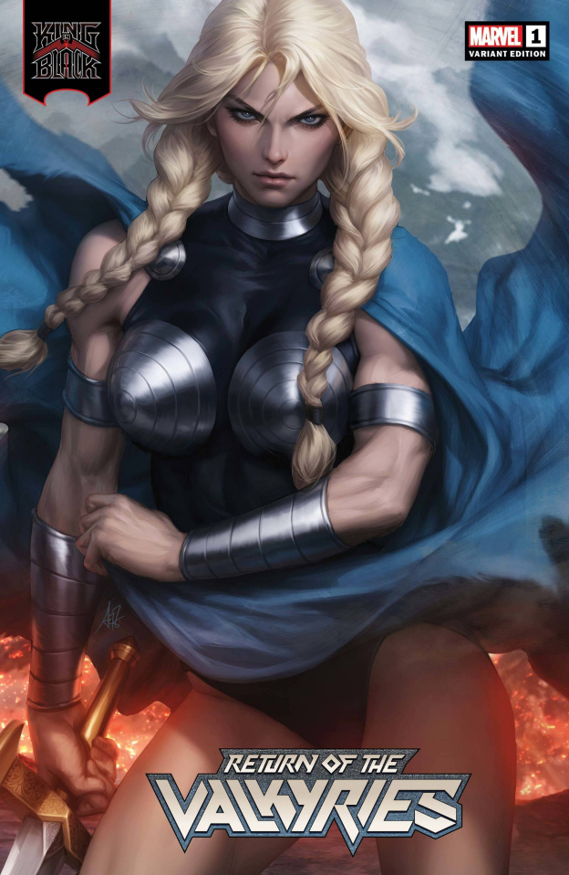 King in Black: Return of the Valkyries #1 (Artgerm Cover)