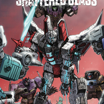Transformers: Shattered Glass #3 (Milne Cover)