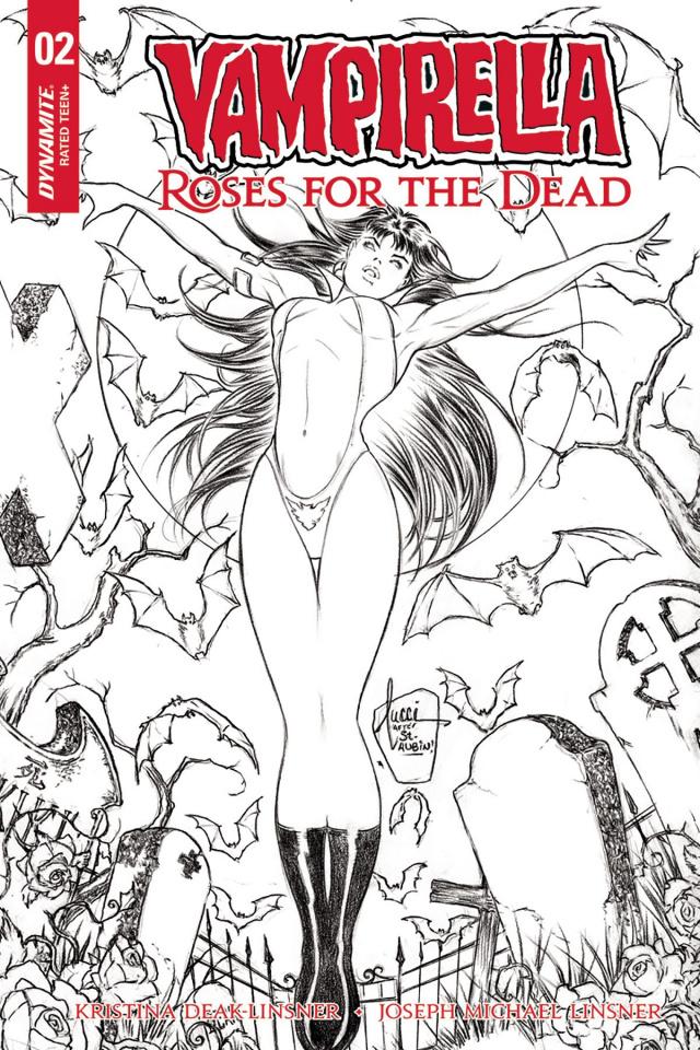 Vampirella: Roses for the Dead #2 (10 Copy Tucci B&W Cover)