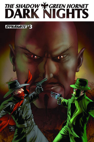 The Shadow / Green Hornet: Dark Nights #3 (Cassaday Cover)
