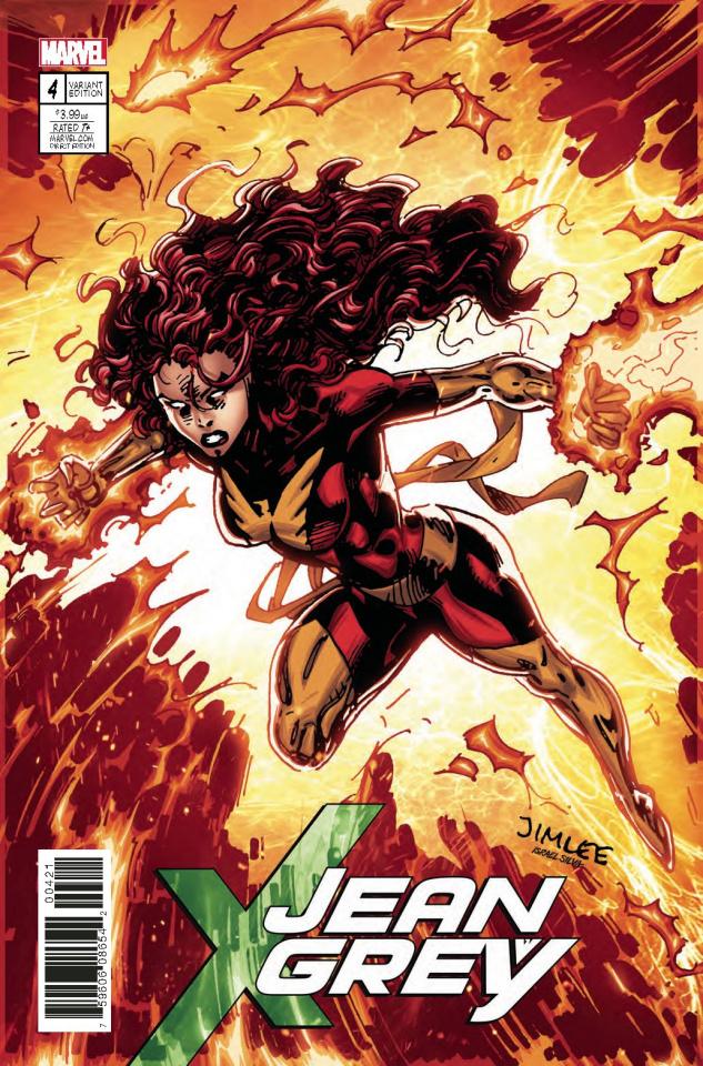 Jean Grey #4 (X-Men Card Cover)