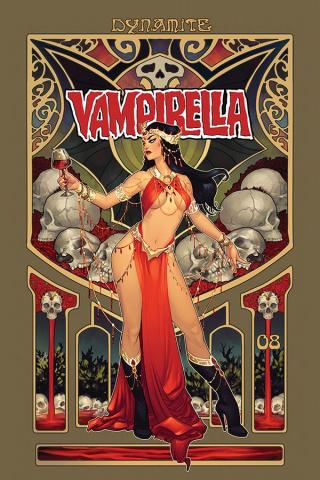 Vampirella #8 (Hetrick Dresseed Bonus Cover)