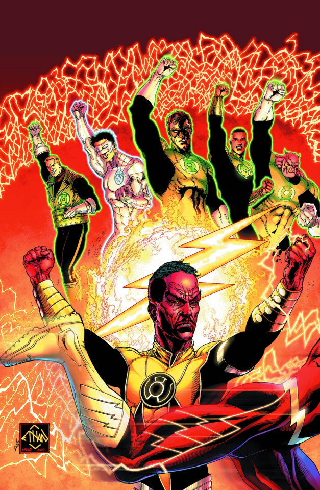 Sinestro #9 (Flash Cover)
