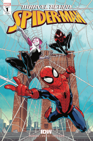Marvel Action: Spider-Man #1 (50 Copy Cover)