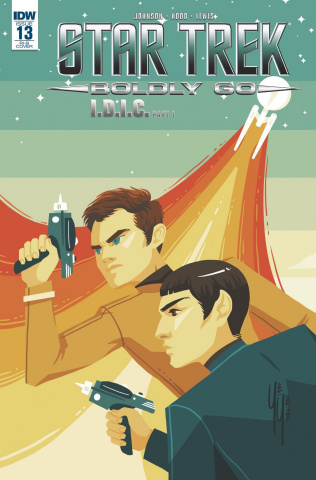 Star Trek: Boldly Go #13 (25 Copy Cover)