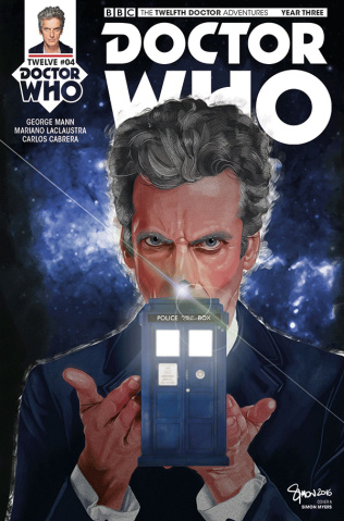 Doctor Who: New Adventures with the Twelfth Doctor, Year Three #4 (Myers Cover)