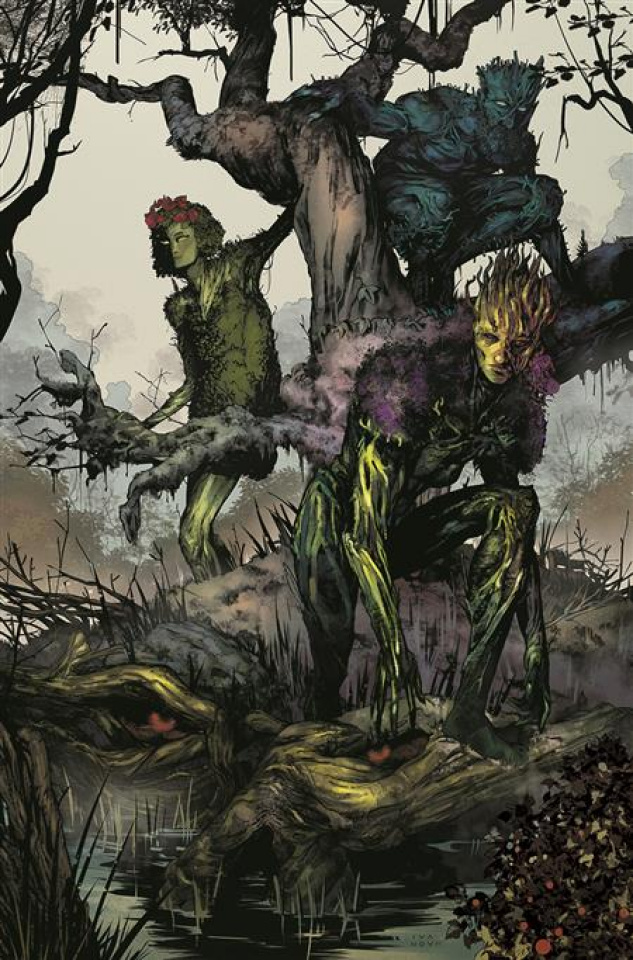 Future State: Swamp Thing #1 (Dima Ivanov Card Stock Cover)