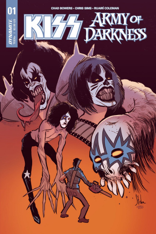 KISS / Army of Darkness #1 (Strahm Cover)