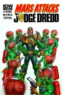 Mars Attacks Judge Dredd #1