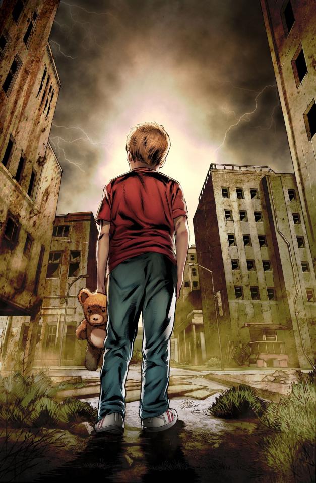 Grimm Tales of Terror #10 (Vitorino Cover)