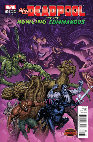 Mrs. Deadpool and the Howling Commandos #1 (Team Cover)