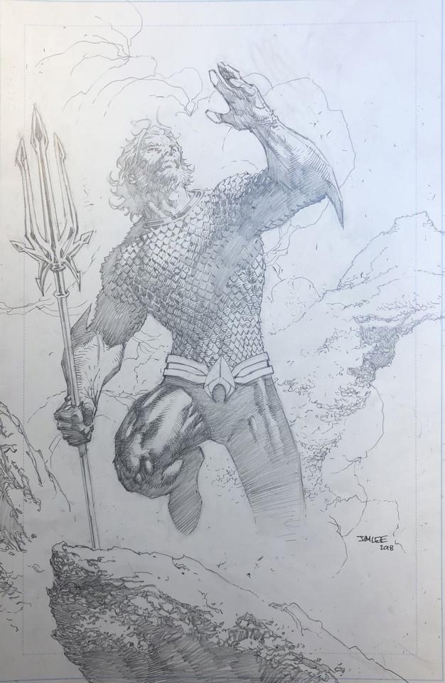 Justice League #10 (Jim Lee Pencils Cover)