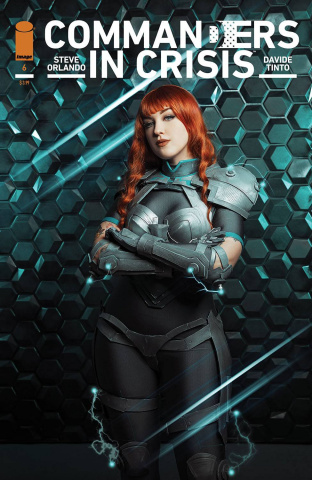 Commanders in Crisis #6 (Cosplay Photo Cover)