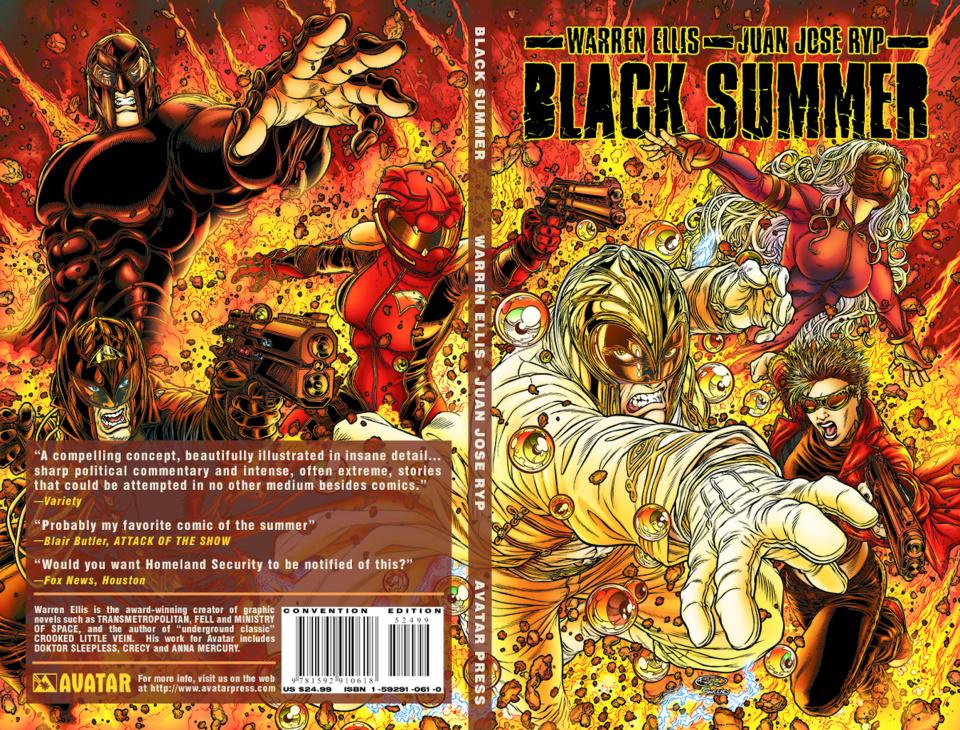 Black Summer (Con Edition)