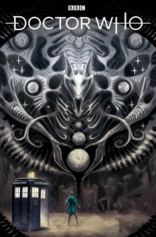 Doctor Who: Empire of the Wolf #1 (Harding Cover)