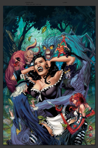 Grimm Fairy Tales: Wonderland #51: Epilogue (Johnson Cover)
