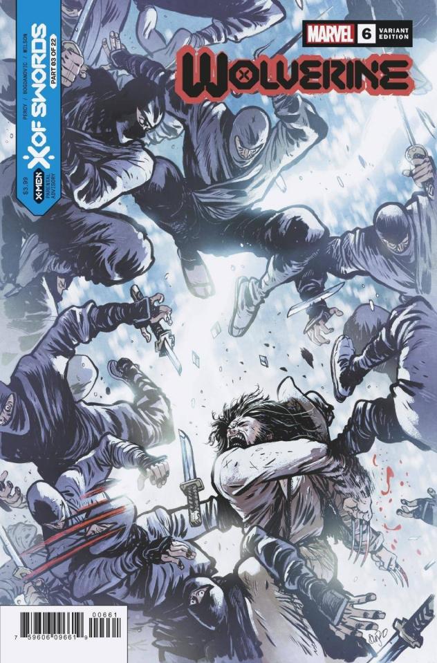 Wolverine #6 (Johnson Cover)