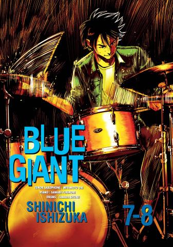 Blue Giant Vol. 4 (Vols. 7-8 Omnibus)