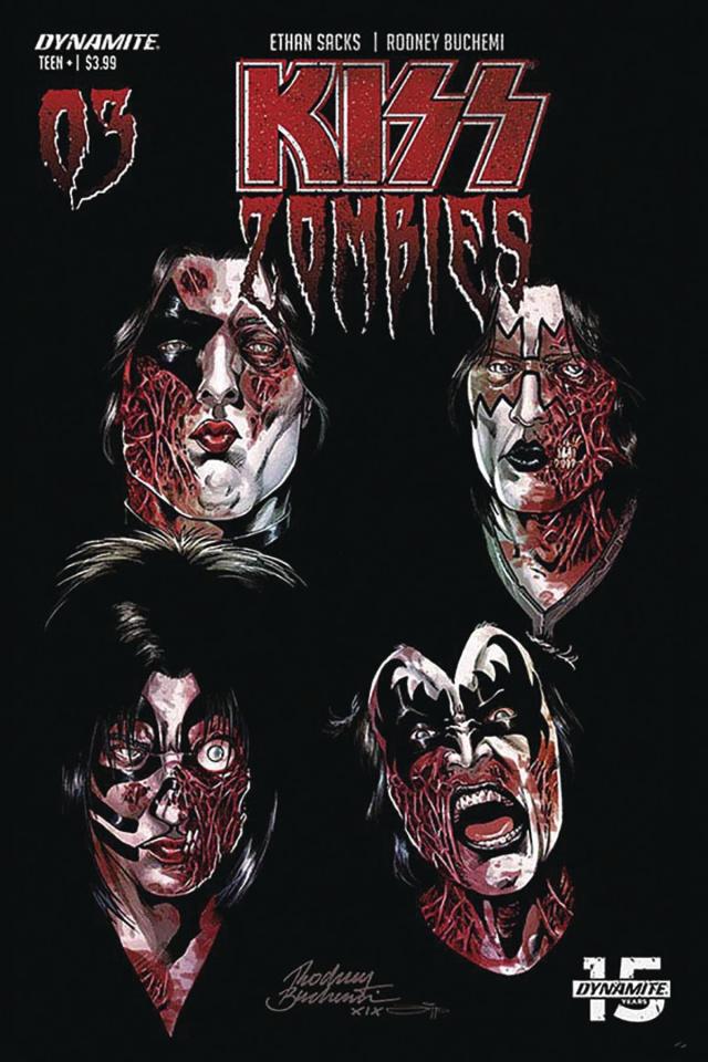 KISS: Zombies #3 (Buchemi Cover)